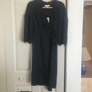 Brand new black Burberry wrap dress!
